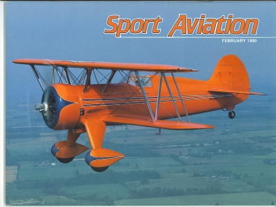 Image for Sport Aviation, February 1990
