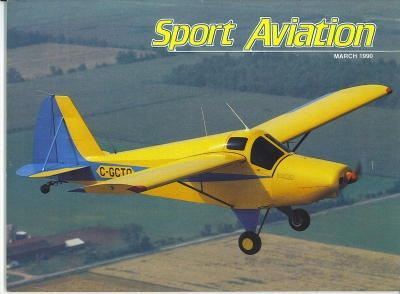Image for Sport Aviation, March 1990