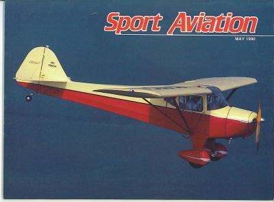 Image for Sport Aviation, May 1990