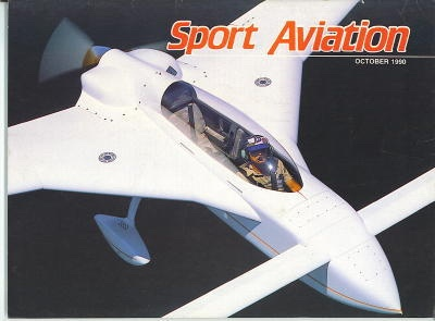 Image for Sport Aviation, October 1990