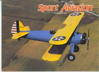 Image for Sport Aviation, November 1990