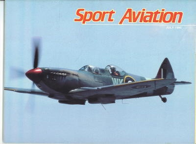 Image for Sport Aviation, July 1990