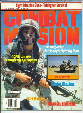 Image for Combat Mission, October 1989 The Magazinre for Today's Fighting Man