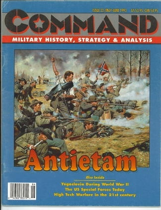 Image for Command Military History, Strategy & Analysis Issue 22/ May - June 1993