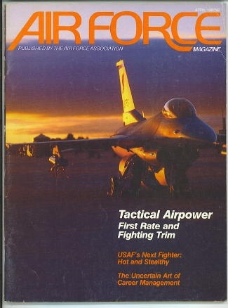 Image for Air Force Magazine, April 1987 Tactical Airpower First Rate and Fighting Trim