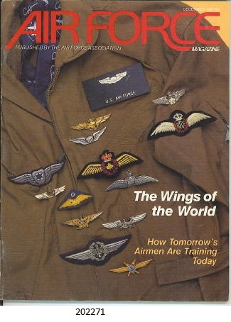 Image for Air Force Magazine. December 1987 The Wings of the World