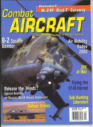 Image for Combat Aircraft, October - November 2000 The International Journal of Military Aviation