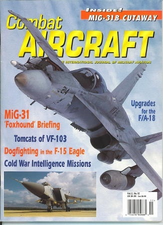Image for Combat Aircraft, September 2000 The International Journal of Military Aviation