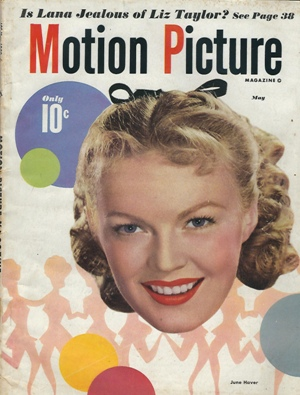 Image for Motion Picture Magazine, May 1949 June Haver