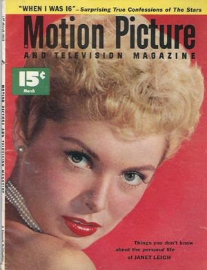 Image for Motion Picture And Television Magazine, March 1953 Janet Leigh