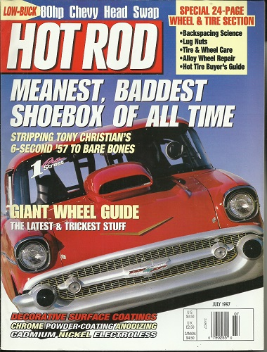 Image for Hot Rod {Magazine} Meanest, Baddest Shoebox of all Time, July 1997