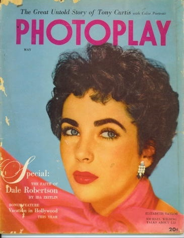 Image for Photoplay Magazine May 1952 Elizabeth Taylor
