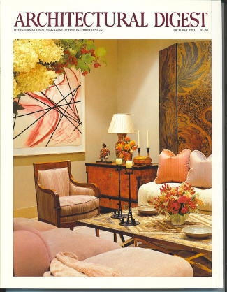 Image for Architectural Digest October 1991 The International Magazine of Fine Interior Design