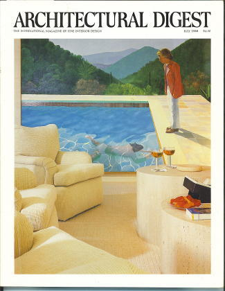 Image for Architectural Digest July 1988 The International Magazine of Interior Design