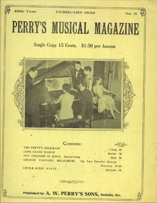 Image for Perry's Musical Magazine, February 1930, No. 11