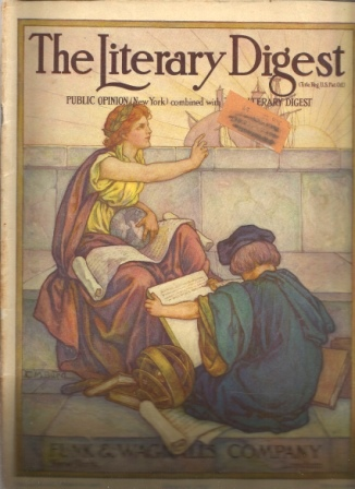 Image for The Literary Digest, April 20, 1912, Vol. 44, No. 16 Public Opinion (New York) Combined with the Library Digest