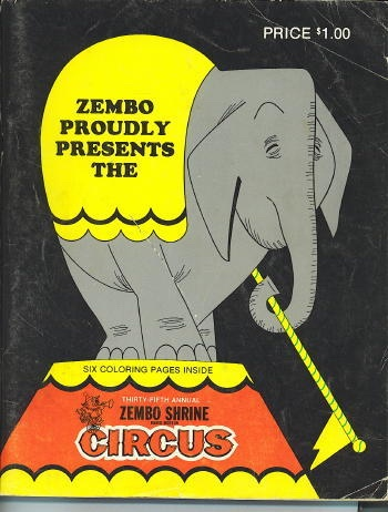 Image for Zembo Proudly Presents The Thirty-fifth Annual Zembo Shrine Circus