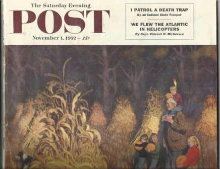 Image for Saturday Evening Post, November 1, 1952