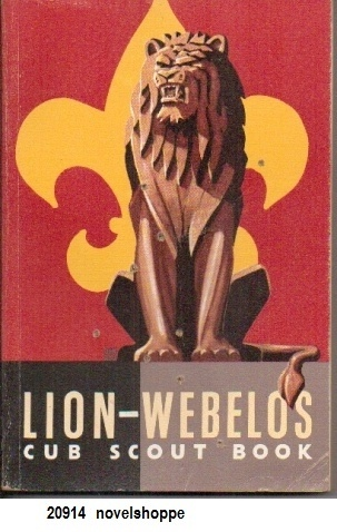 Image for Lion-Webelos Cub Scout Book