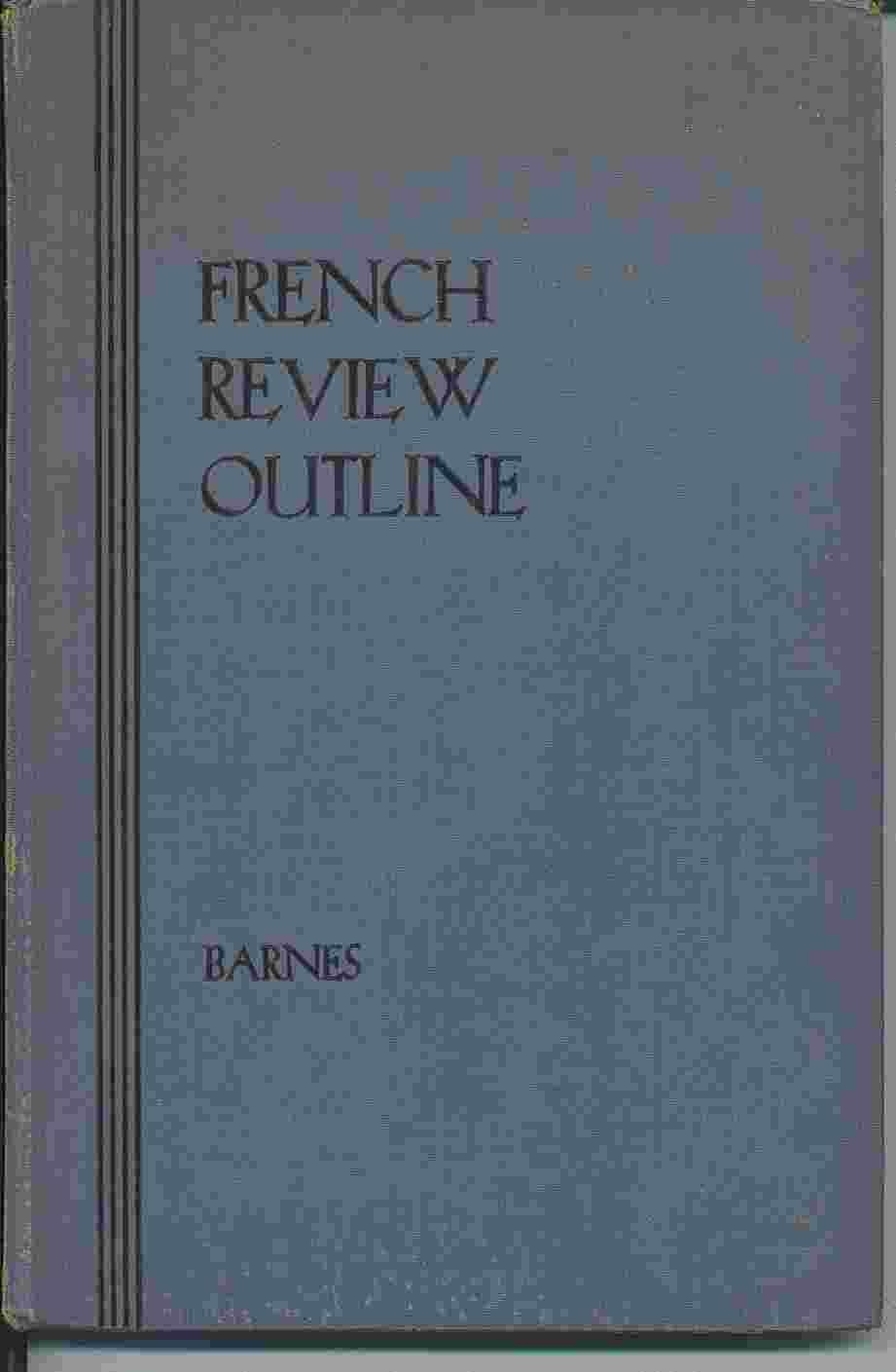 Image for French Review Outline