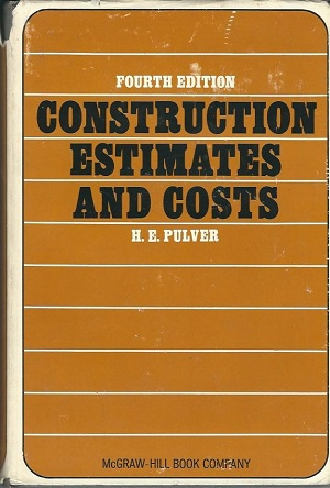 Image for Construction Estimates And Costs, Fourth Edition