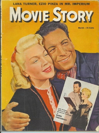 Image for Movie Story, March 1951 Lana Turner, Ezio Pinza in Mr. Imperium