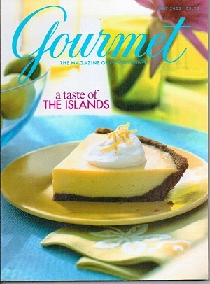 Image for Gourmet: The Magazine Of Good Living May 2003: A Taste Of The Islands