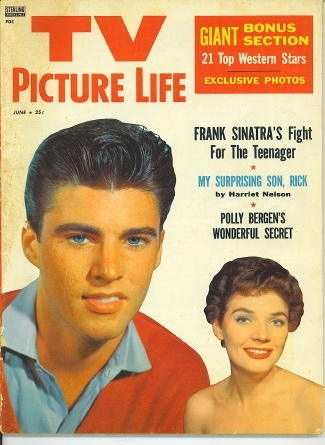 Image for TV Picture Life, June 1958 Ricky Nelson, Polly Bergen