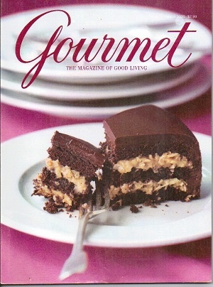 Image for Gourmet: The Magazine Of Good Living March 2000