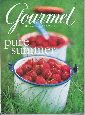 Image for Gourmet: The Magazine Of Good Living July 1997