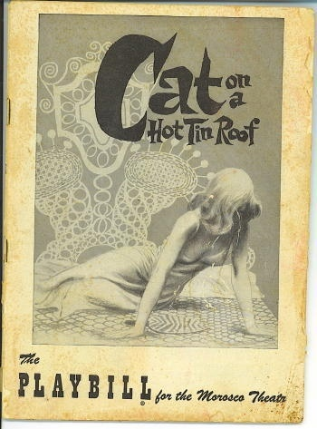 Image for Playbill: Cat On A Hot Tin Roof