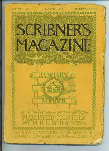 Image for Scribner's Magazine, January 1902 Volume XXX, No. 1, published monthly with illustrations