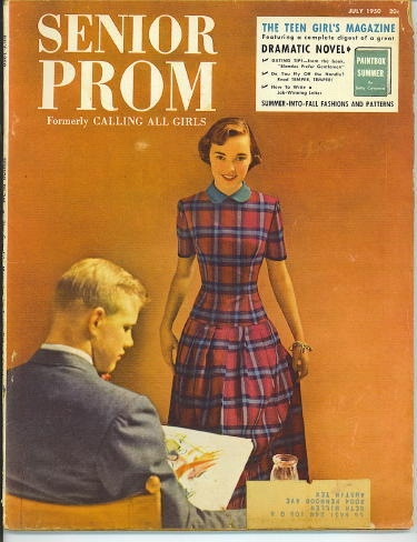 Image for Senior Prom ( Formerly Calling All Girls)  July, 1950