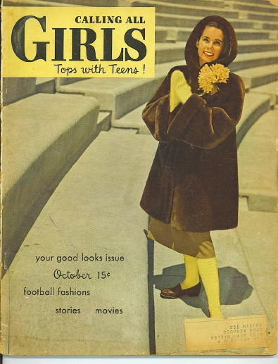 Image for Calling All Girls, October 1947, Tops With Teens Your Good Looks Issue, Football Fashions, Stories, Movies