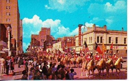 Image for Annual Stock Show-rodeo Parade: Where The Wild West Remains Fort Worth, Texas