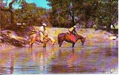 Image for Texas Rangers On Quarter Horses: A Pause For Refreshments Southwest Texas Hill Country