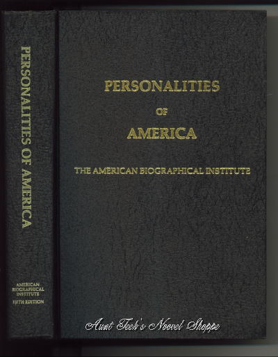 Image for Personalities Of America, Fifth Edition