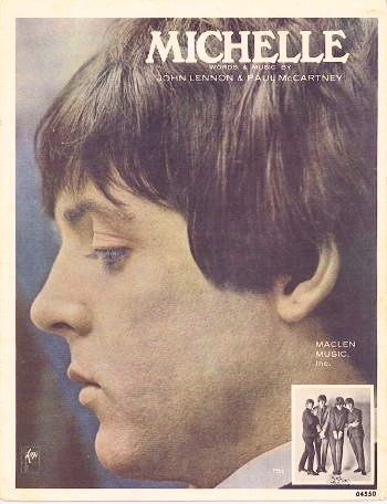 Image for Michelle Showing Paul McCartney's Fabulous Profile.