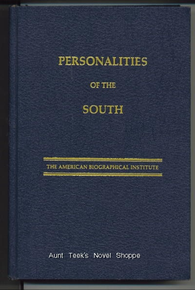 Image for Personalities Of The South, Twelfth Edition