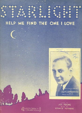 Image for Starlight: Help Me Find The One I Love Guy Lombardo