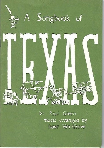 Image for A Songbook of Texas