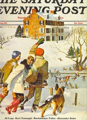 Image for Saturday Evening Post, Winter 1971: Volume 243, No. 3