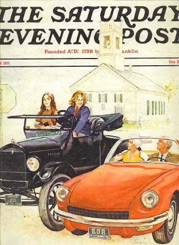 Image for Saturday Evening Post, Fall 1971