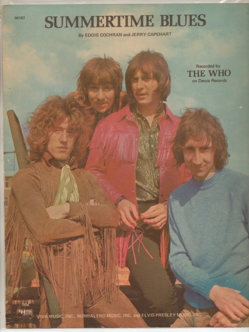 Image for Summertime Blues  (The Who)