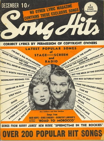 Image for Song Hits: December 1942: Ann Sothern And Red Skelton