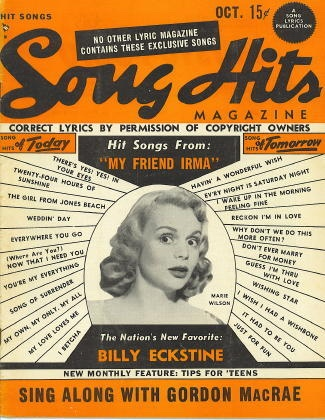 Image for Song Hits: October 1949: Marie Wilson