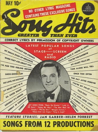 Image for Song Hits: May 1944: Gene Kelly