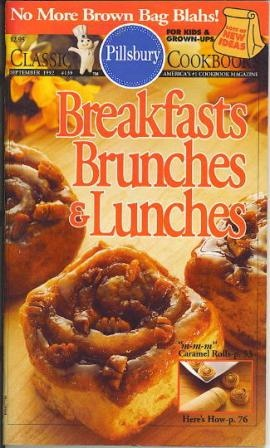 Image for Breakfasts Brunches & Lunches, Pillsbury Classics No. 139 September 1992