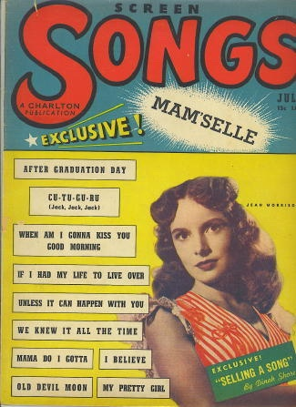 Image for Screen Songs, July 1947