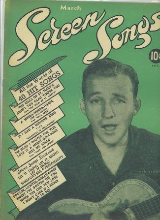 Image for Screen Songs, March 1946